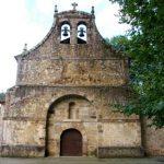 Iglesia de San Juan Bautista en Agüera