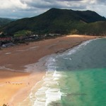 Playa de Berria en Santoña