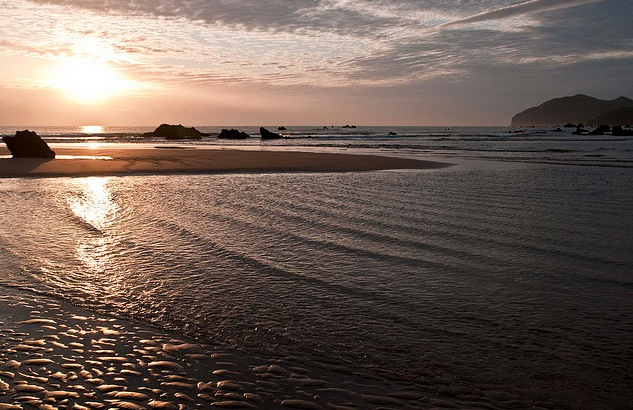 playa de trengandin noja