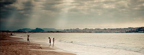 Playa El Puntal de Somo