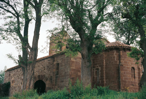 iglesia de san juan bautista en mata de hoz