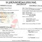 Llega a Comillas el IX Festival Folkomillas los días 21, 22 y 23 de junio