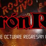 Concierto de Barón Rojo en Santander el 18 de octubre