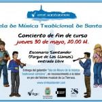 Concierto de fin de curso 2013 de la Escuela Tradicional de Santander