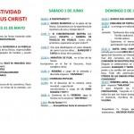 Este fin de semana: Fiestas del Corpus Christi en Hinojedo 2013