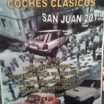 Concentración coches clásicos San Juan 2013 en Los Corrales de Buelna el 16 de junio