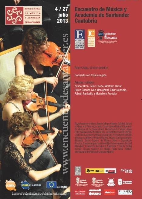 Concierto del Encuentro de Música y Academia de Santander