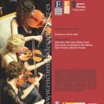 Concierto del Encuentro de Música y Academia de Santander el 7 de julio en el Teatro Concha Espina de Torrelavega