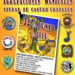 V Encuentro de Agrupaciones Musicales 2013 en Castro Urdiales el 22 de junio
