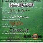 X Festival San Juan Folk en El Arenal de Penagos 2013 el 15 de junio