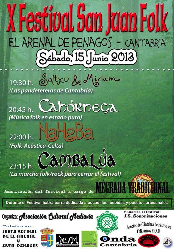 X Festival San Juan Folk