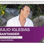 El concierto de Julio Iglesias en Santander será el 17 de agosto