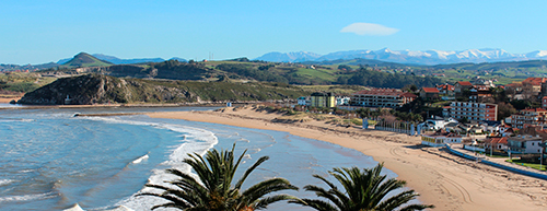 playa de la concha suances