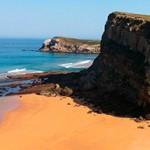 Playa de La Tablía en Suances
