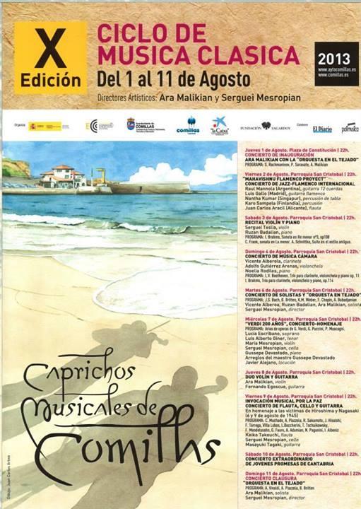 caprichos musicales comillas 2013