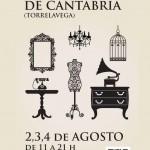 XIV Feria del Desembalaje de Antigüedades en Torrelavega 2013 los días 2, 3 y 4 de agosto