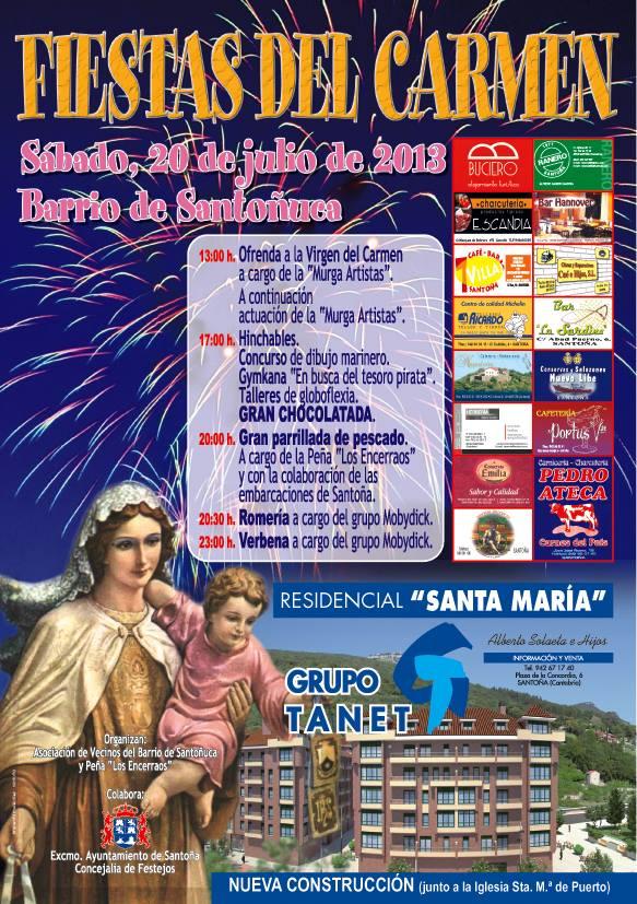 fiestas carmen santoñuca santoña 2013