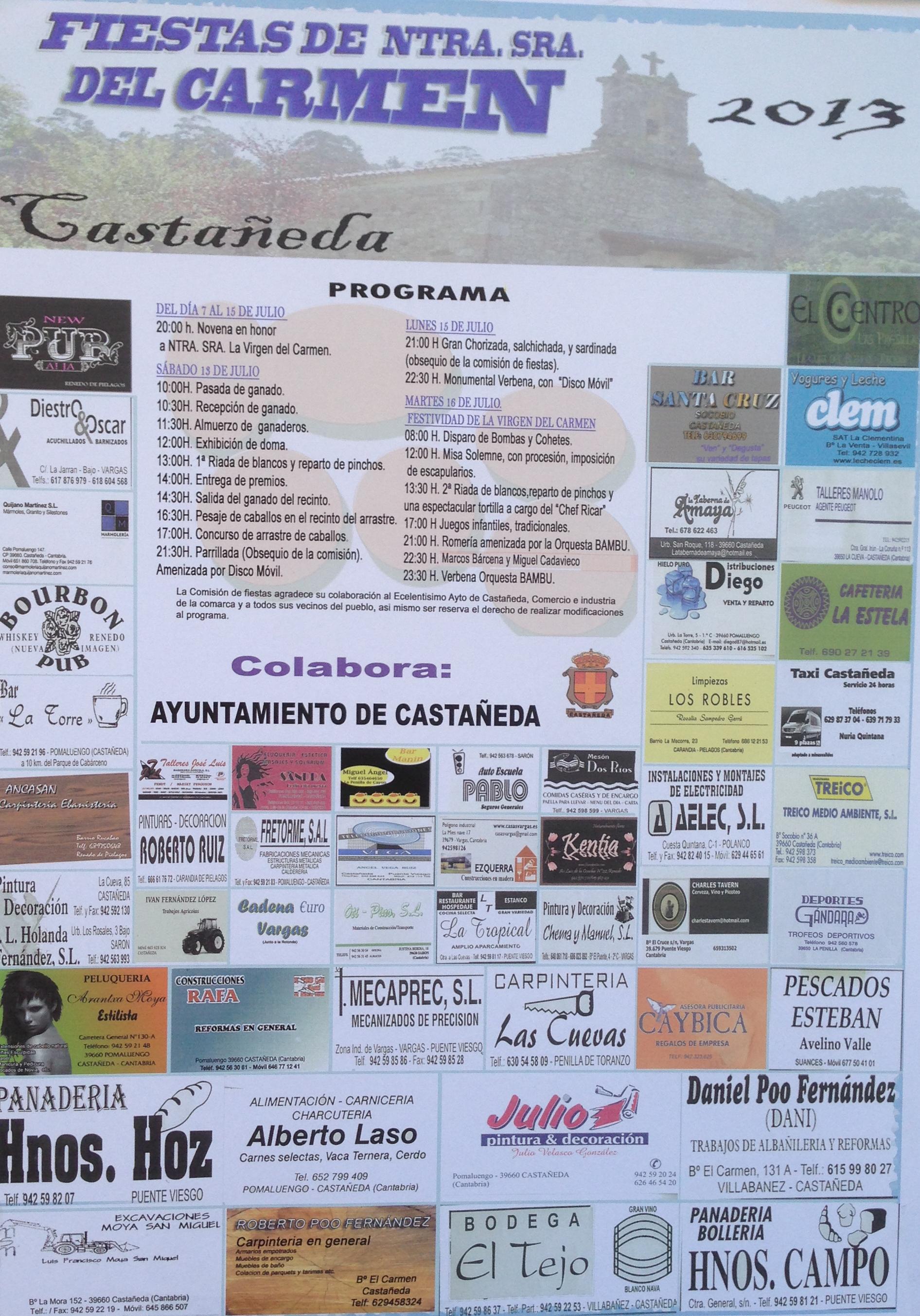 fiestas castañeda 2013