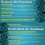 Fiestas del Carmen y Santiago en Colindres 2013