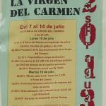Fiestas de Nuestra Señora del Carmen 2013 en Las Fraguas