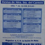 Fiestas de Nuestra Señora del Carmen 2013 en Mata