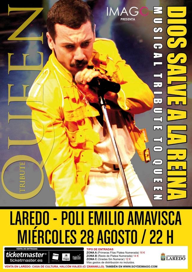 triubuto a queen laredo 2013