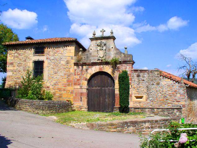 Casa de los Mirones Güemes y Vargas en Pomaluengo
