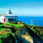 Faro de Punta Silla en San Vicente de la Barquera