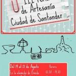 III Feria de Artesanía Ciudad de Santander 2013 del 14 al 21 de agosto