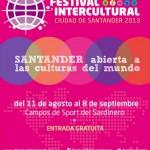 Festival Intercultural Santander 2013 del 11 de agosto al 8 de septiembre