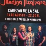Concierto de Medina Azahara en Cabezón de la Sal el 14 de agosto