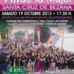 VIII Carrera popular de la mujer en Bezana el 19 de Octubre.