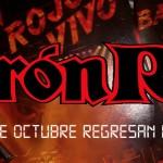 Barón Rojo en Escenario Santander el día 18 de Octubre