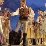 Giselle, representación del ballet en el Teatro Concha Espina el 27 de Octubre