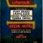 Festival Noche Motel en Escenario Santander el 19 de Octubre