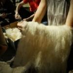 Curso de teñido de hilos y tejidos con tintes naturales en Bejes del 18 al 20 de Octubre