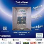 Festival de Boleros en el Casyc el 16 de Noviembre