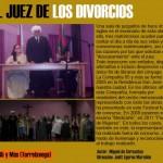 El Juez de los Divorcios en el Concha Espina el 6 de Diciembre