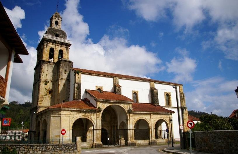 Iglesia de Nuestra Señora de la Asunción en Hazas (Liendo)