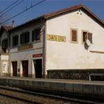 Estación de Tren en Santa Cruz de Iguña