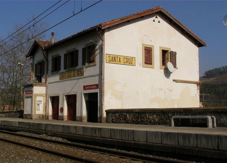 estacion de tren de santa cruz de iguña