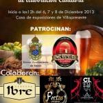 1ª Feria de la Cerveza Artesana de Cantabria en Villapresente