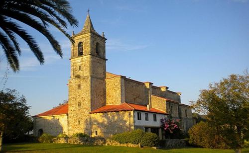 iglesia de nuestra señora de la asunción en Galizano