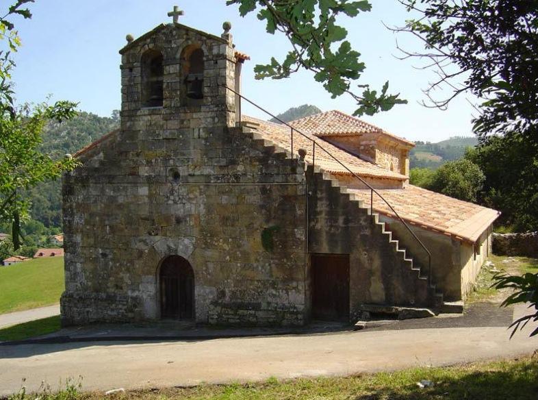 Iglesia de San Román en Aés