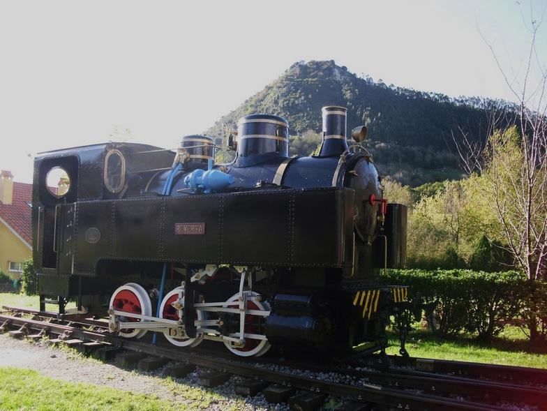 Locomotora de Vapor Reyerta en Puente Viesgo