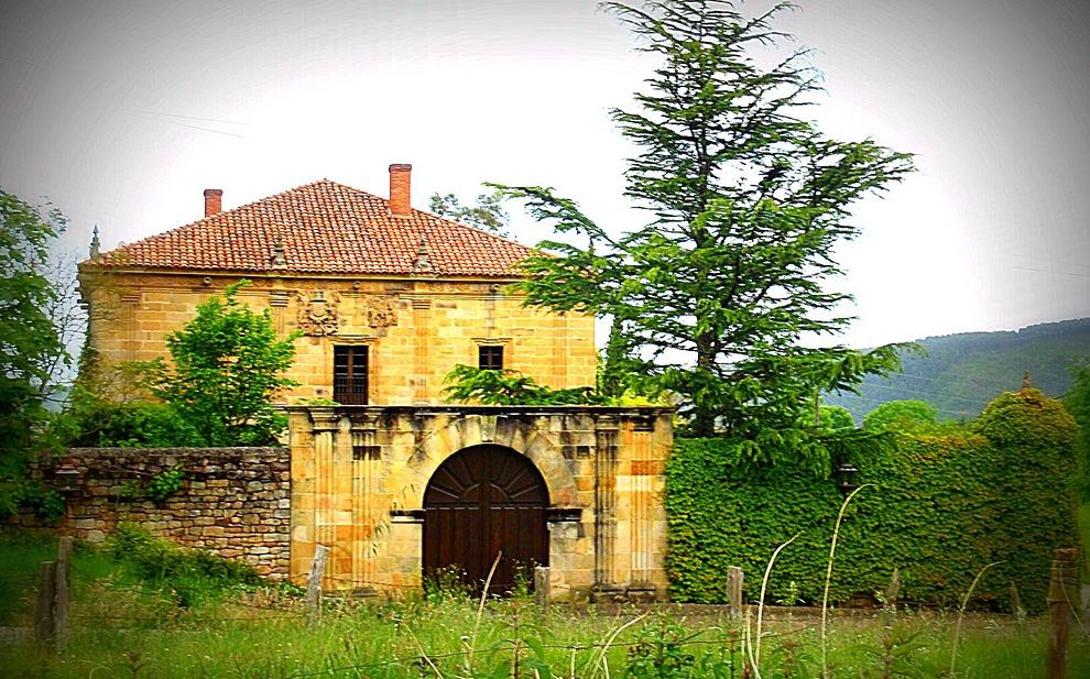 El palacio de la Jilguera o La Helguera en Las Presillas
