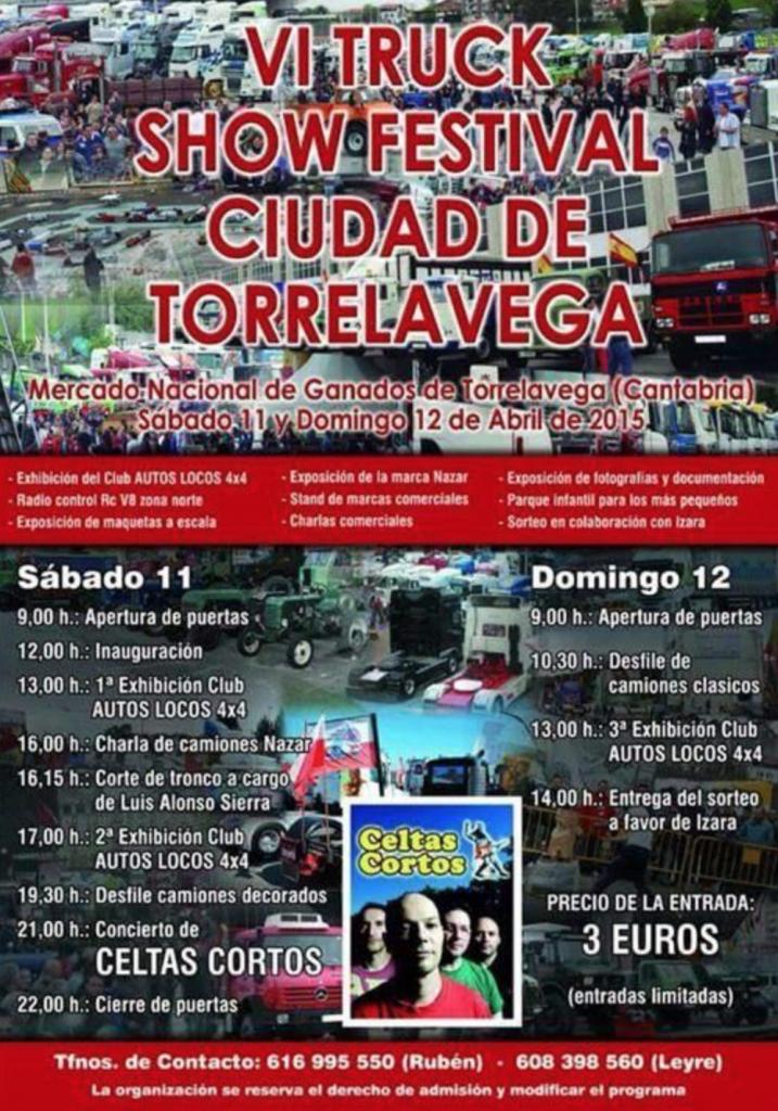 VI truck show torrelavega