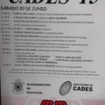 Grandes Fiestas de San Juan Bautista en Cades 2015