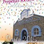 Fiestas del Perpetuo Socorro 2015 en Sarón