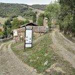 porcieda, villa abandonada, monasterio y ermita de la virgen de las nieves en Porcieda